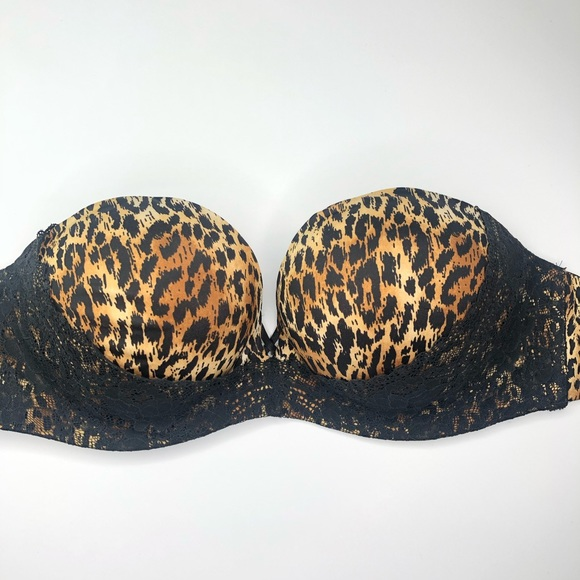 Victoria's Secret Other - Victoria's Secret leopard and lace padded bra